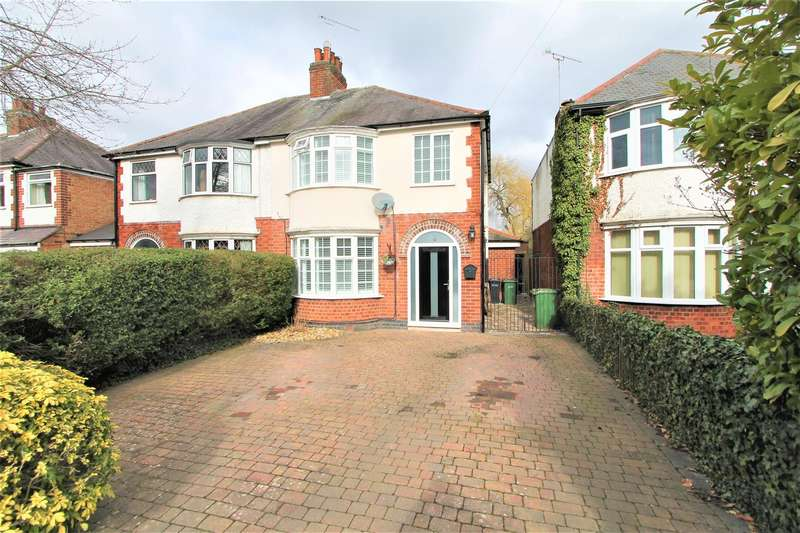 3 Bedrooms Semi Detached House for sale in Granville Road, Wigston, Leicester LE18