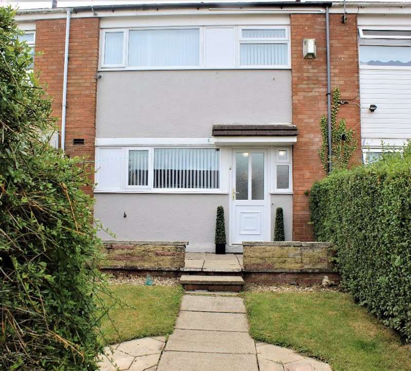 3 Bedrooms Terraced House for rent in Stanhope Drive, Liverpool, L36