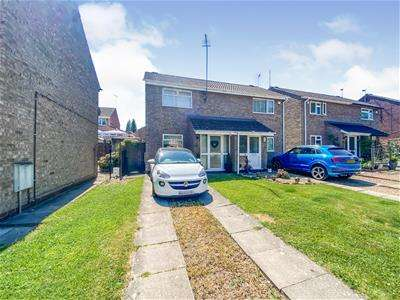 2 Bedrooms Semi Detached House for sale in Copeland Avenue, off Groby Road, Leicester
