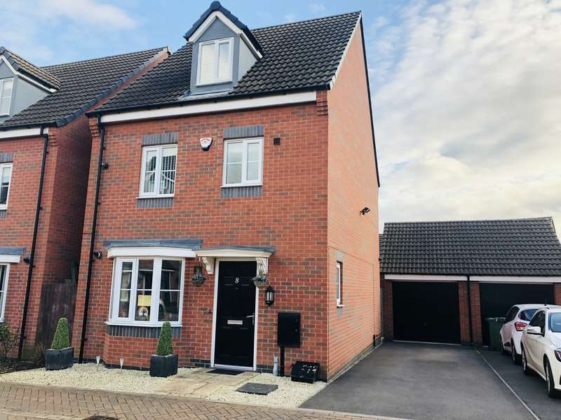 4 Bedrooms Detached House for sale in Sandpit Drive, Leicester, Leicestershire, LE4