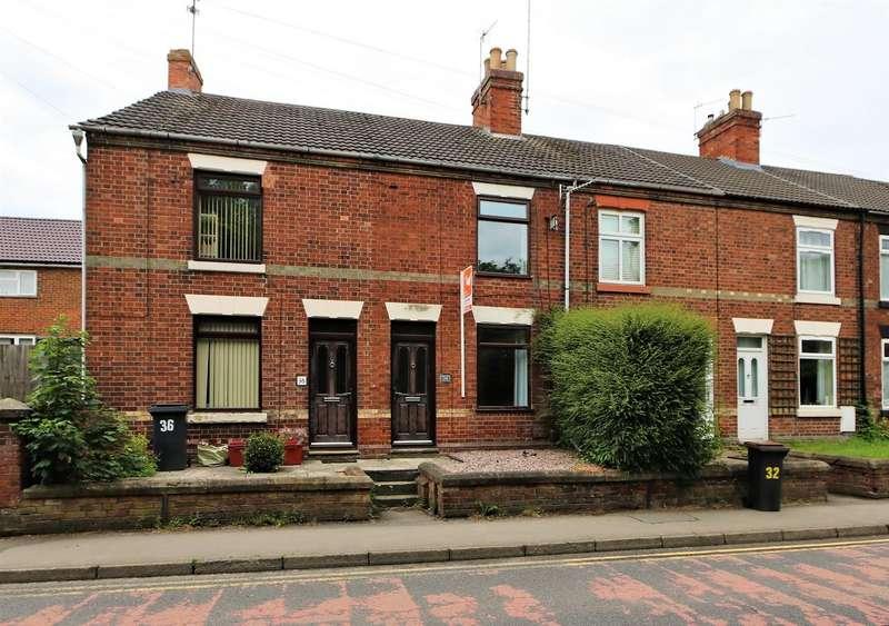 2 Bedrooms Terraced House for sale in Derby Road, Ashby-De-La-Zouch, LE65 2HE