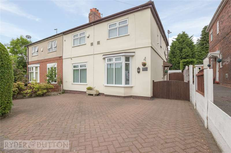 3 Bedrooms Semi Detached House for sale in Mossway, Alkrington, Middleton, Manchester, M24