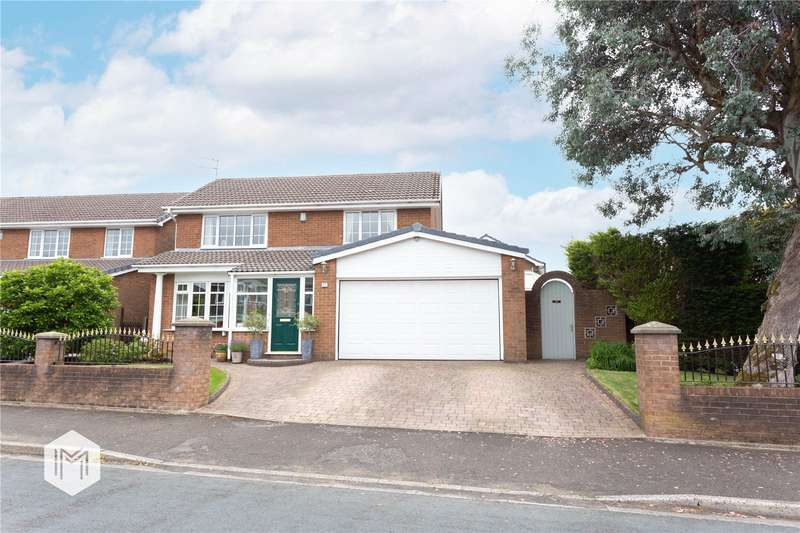 5 Bedrooms Detached House for sale in Rudgwick Drive, Brandlesholme, Bury, BL8