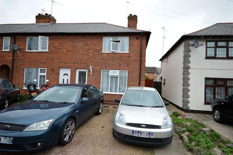 2 Bedrooms Terraced House for sale in Matlock Avenue, Wigston, LE18 4NA