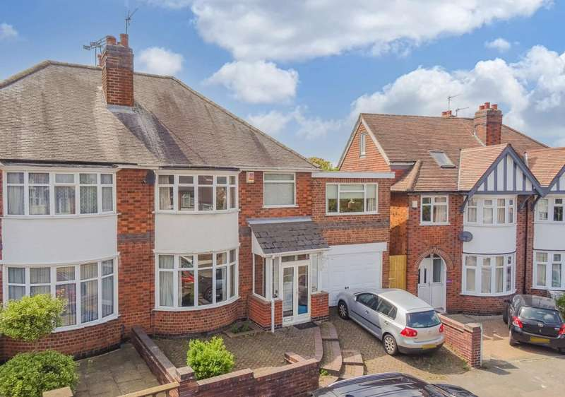 4 Bedrooms Semi Detached House for sale in Dorchester Road, Leicester