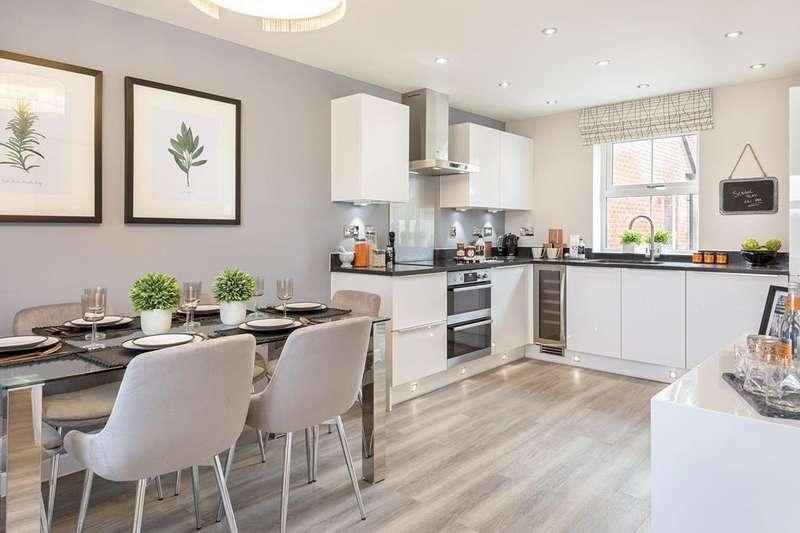 3 Bedrooms House for sale in Lutterworth, Wigston Meadows, Newton Lane, Wigston, WIGSTON, LE18 3SH