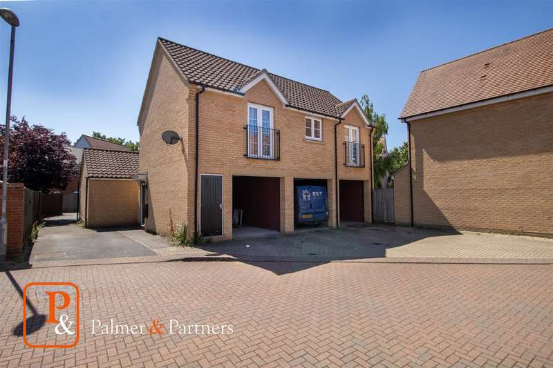 2 Bedrooms Detached House for sale in Kirk Way, Myland, Colchester CO4