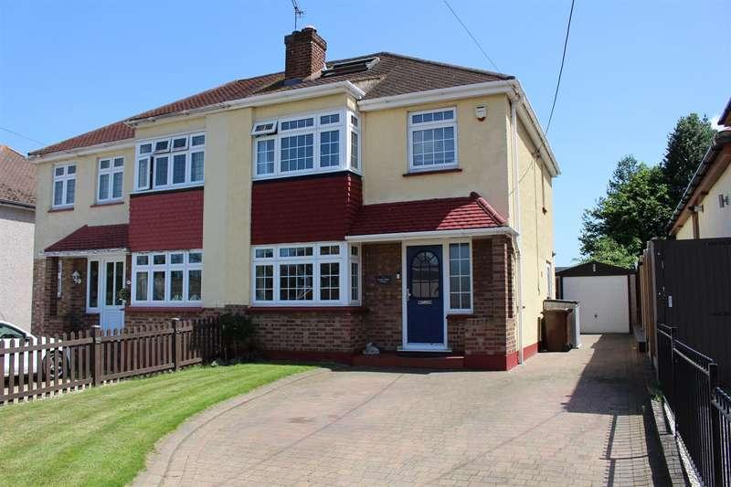 4 Bedrooms Semi Detached House for sale in Badger Hall Avenue, Benfleet