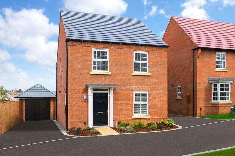 4 Bedrooms House for sale in Ingleby, David Wilson Homes at Kibworth, Fleckney Road, Kibworth, LEICESTER, LE8 0HG