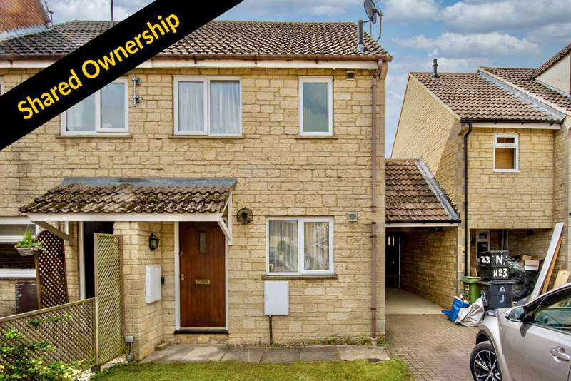 2 Bedrooms Terraced House for sale in Perrinsfield, Lechlade, Gloucestershire GL7
