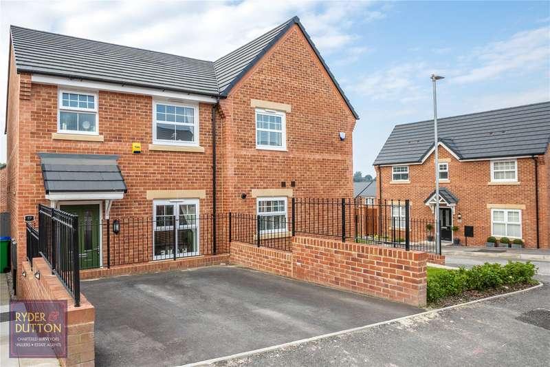 3 Bedrooms Semi Detached House for sale in Ginnell Farm Avenue, Burnedge, Rochdale, OL16