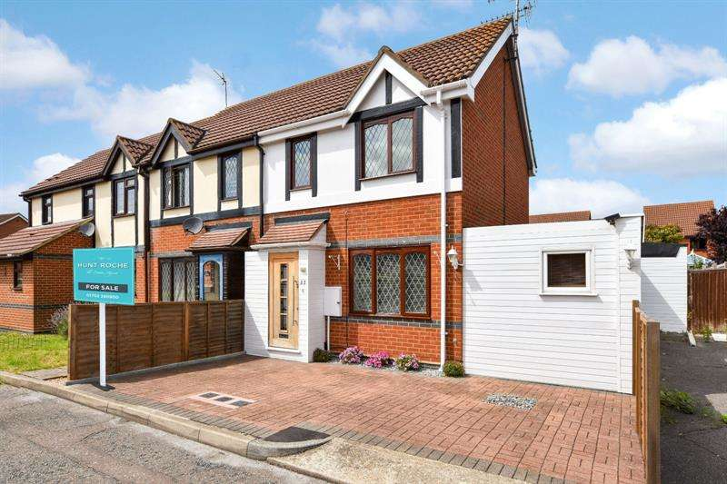 2 Bedrooms End Of Terrace House for sale in Cookham Court, North Shoebury, Essex, SS3