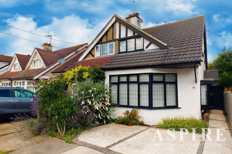 2 Bedrooms Semi Detached House for sale in Dalwood Gardens, Benfleet