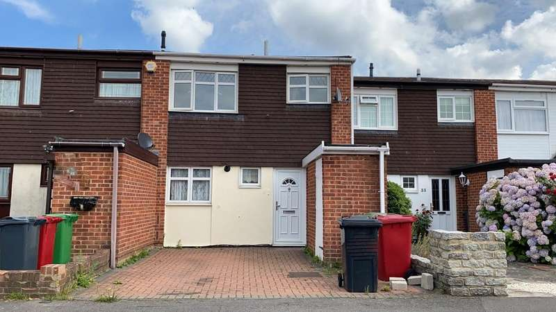 3 Bedrooms Terraced House for sale in Mendip Close, Slough, SL3 8UB