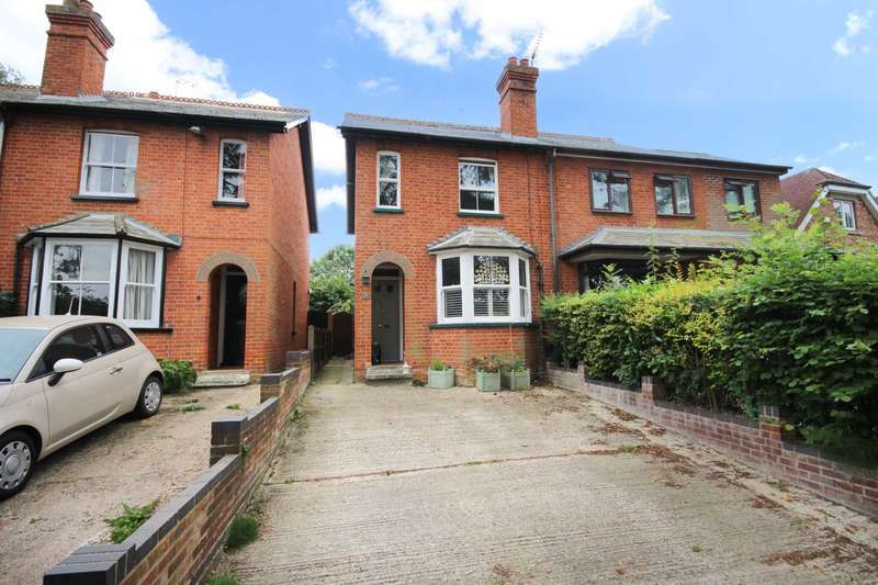 3 Bedrooms Semi Detached House for sale in Popeswood Road, Binfield