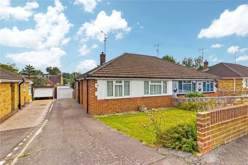 2 Bedrooms Semi Detached Bungalow for sale in Amblecote Road, Tilehurst, Reading, RG30