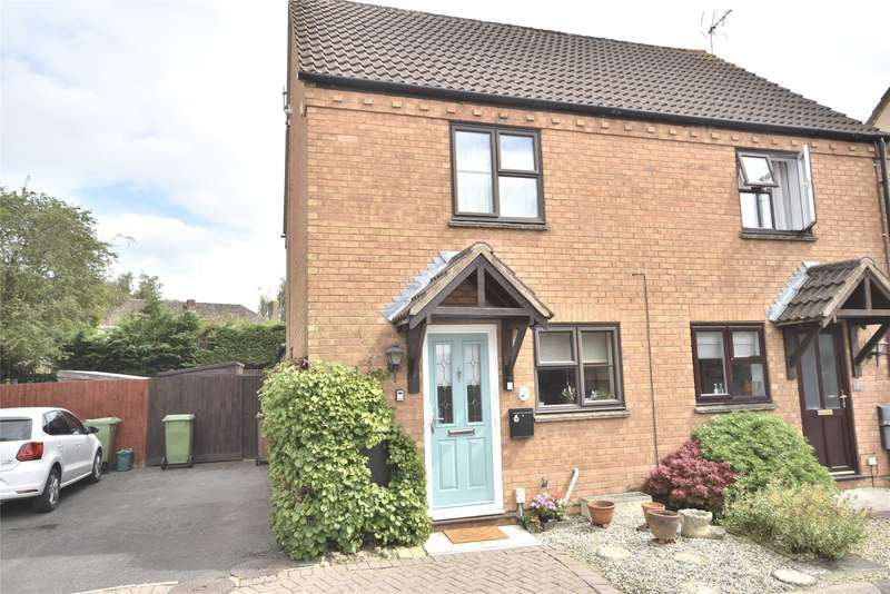 2 Bedrooms Semi Detached House for sale in Meadow Lea, Bishops Cleeve, Cheltenham, GL52