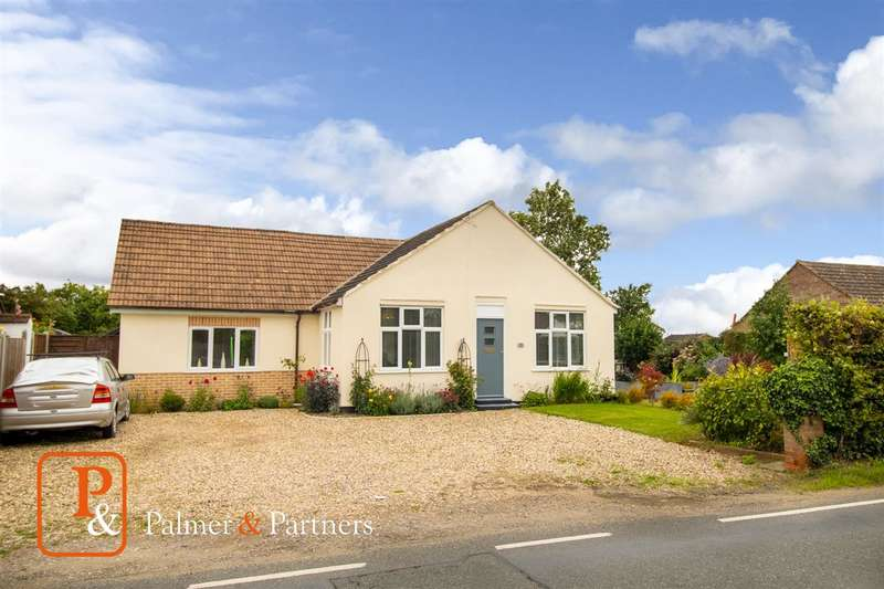 4 Bedrooms Bungalow for sale in Church Road, Fordham, Colchester CO6