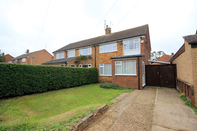 3 Bedrooms Semi Detached House for sale in Manor Road, Toddington, LU5