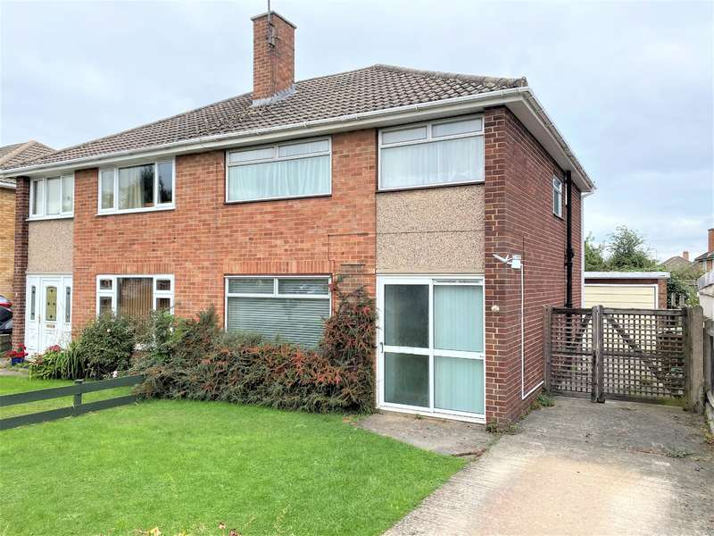 3 Bedrooms Semi Detached House for sale in Sheepscombe Close, Benhall, Cheltenham, GL51 6BE