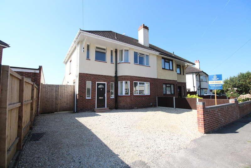 3 Bedrooms Semi Detached House for sale in Armscroft Crescent, Barnwood, Gloucester, GL2
