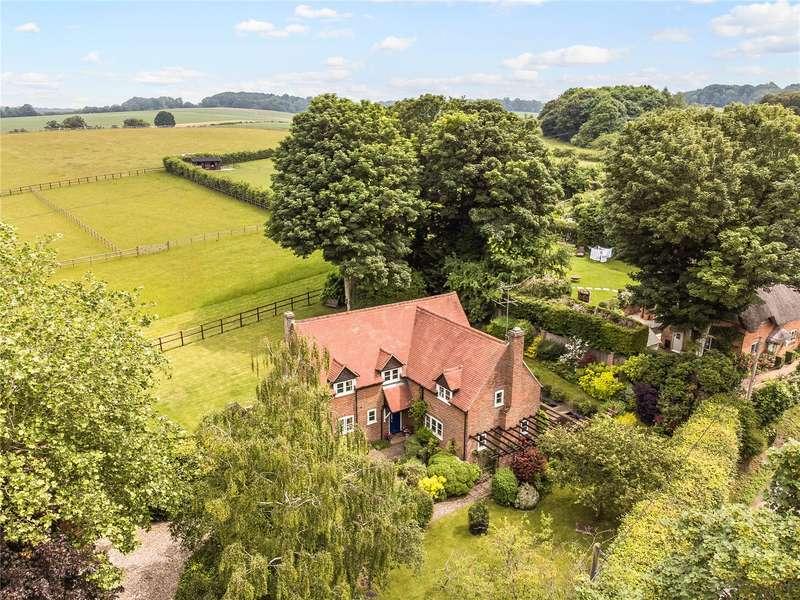 4 Bedrooms Detached House for sale in School Lane, Boxford, Newbury, Berkshire, RG20