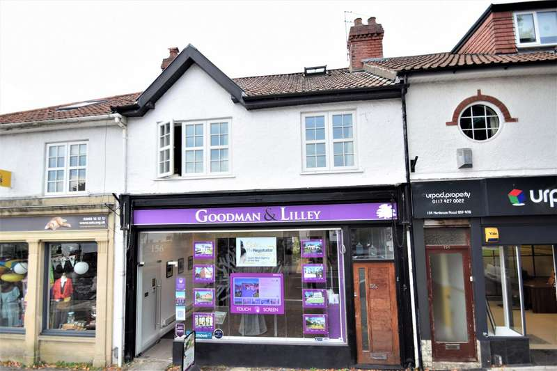 3 Bedrooms Maisonette Flat for sale in Henleaze, Bristol
