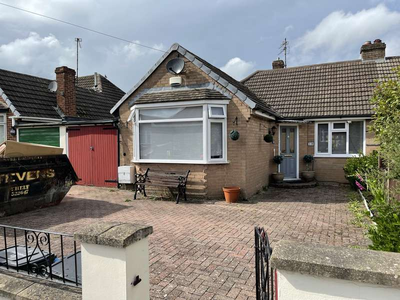 2 Bedrooms Semi Detached Bungalow for sale in HAWKSWOOD ROAD, WARDEN HILL, GL51