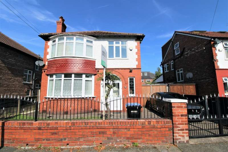 3 Bedrooms Detached House for sale in Coleridge Road, Manchester, Greater Manchester, M16