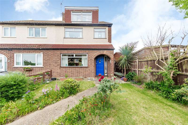 3 Bedrooms Semi Detached House for sale in Stanley Close, Hornchurch, RM12