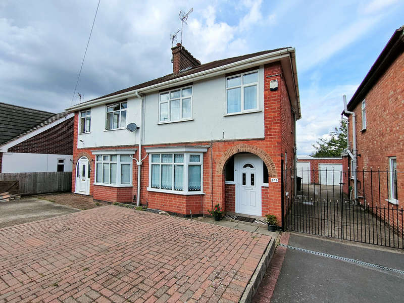 3 Bedrooms Semi Detached House for sale in Knightthorpe Road, Loughborough