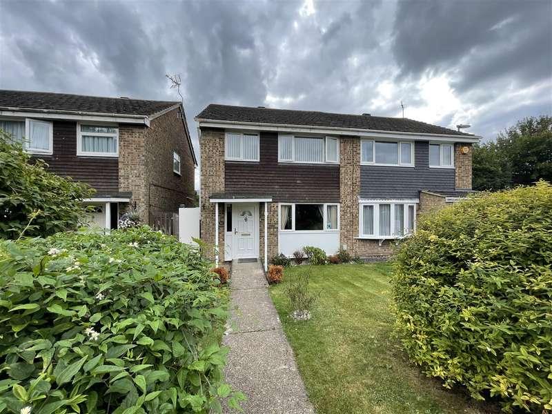 3 Bedrooms Semi Detached House for sale in Suncote Avenue, Dunstable, Bedfordshire