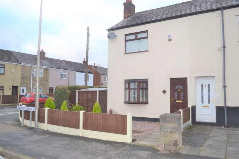 2 Bedrooms Semi Detached House for rent in Morton Avenue, Poolstock, Wigan, WN3 5EL