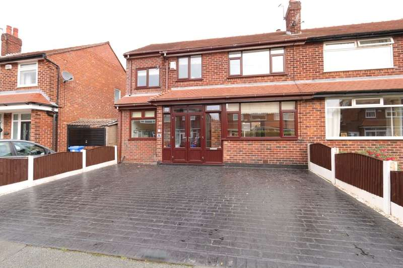 4 Bedrooms Semi Detached House for sale in Charnwood Avenue, Denton, Manchester, M34