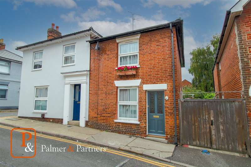 2 Bedrooms Semi Detached House for sale in Golden Noble Hill, Colchester, CO1