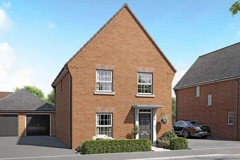 3 Bedrooms House for sale in Ingleby, New Lubbesthorpe, Tweed Street, Lubbesthorpe, LEICESTER, LE19 4BH