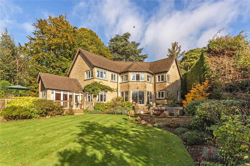 5 Bedrooms Detached House for sale in Private Road, Rodborough Common, Stroud, Gloucestershire, GL5