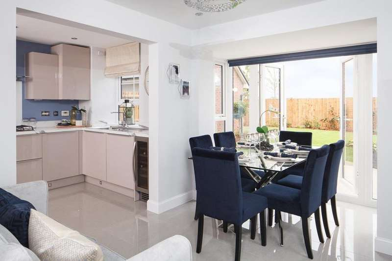 3 Bedrooms House for sale in Morpeth, New Lubbesthorpe, Tay Road, Lubbesthorpe, LEICESTER, LE19 4BF
