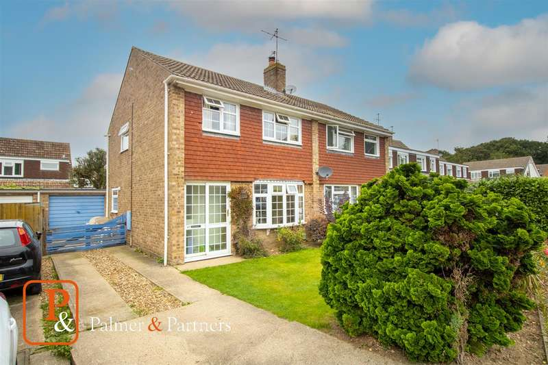 3 Bedrooms Semi Detached House for sale in Evergreen Drive, St Johns, Colchester CO4
