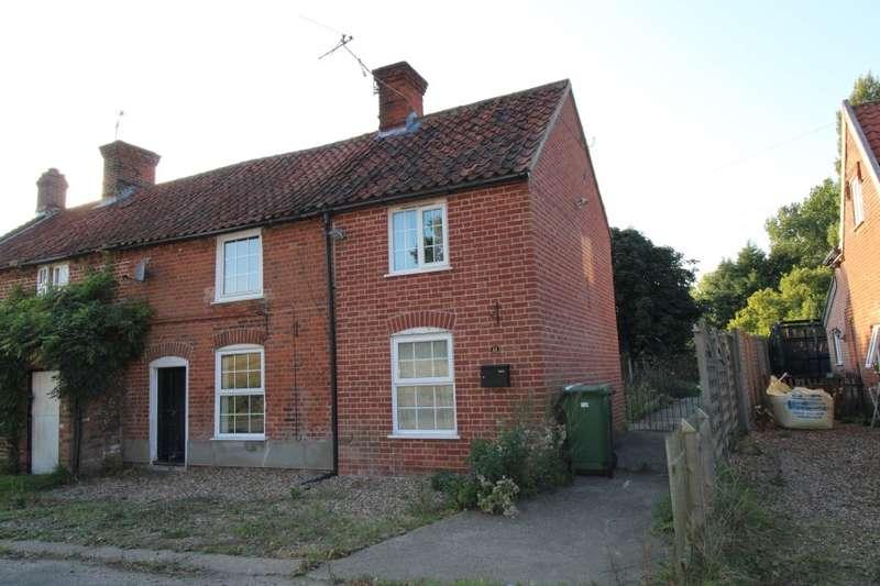 3 Bedrooms Semi Detached House for sale in 21 Hardley Street, Hardley, Loddon, Norfolk