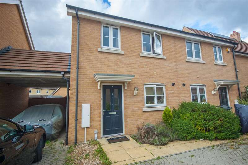 2 Bedrooms Semi Detached House for sale in Cowlin Mead, Broomfield, Chelmsford