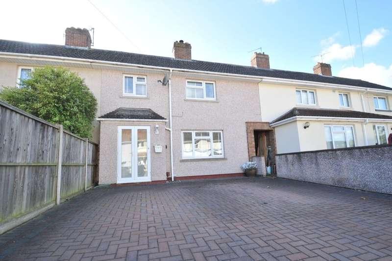 3 Bedrooms Terraced House for sale in Holcombe Grove, Keynsham, Bristol, BS31