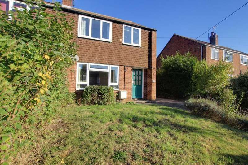 3 Bedrooms Semi Detached House for sale in Manor Road, Whitchurch On Thames, Reading, RG8
