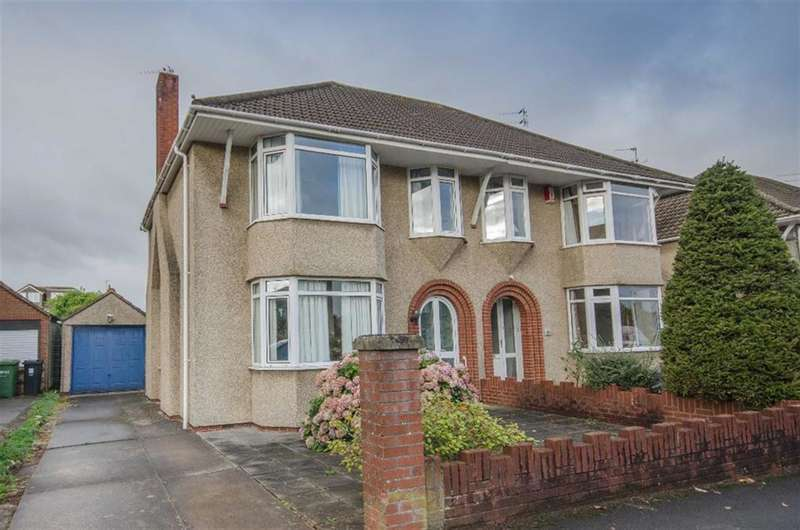 3 Bedrooms Semi Detached House for sale in Oakdale Close, Downend, Bristol, BS16 6EF