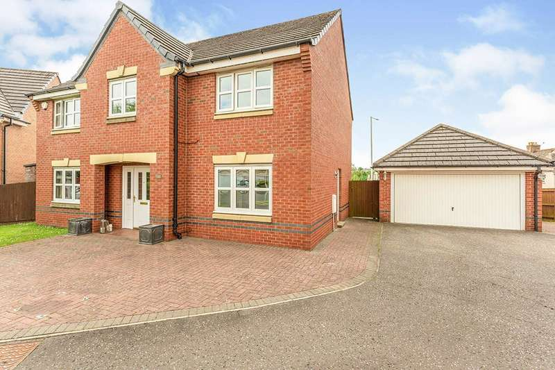 5 Bedrooms Detached House for sale in Dean Park Brae, Chapel, Kirkcaldy, Fife, KY2