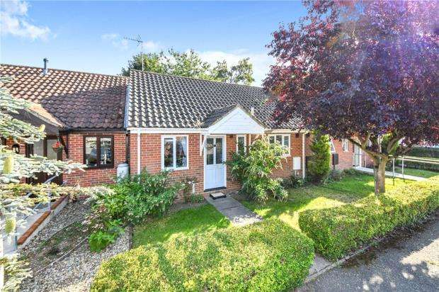 2 Bedrooms Terraced Bungalow for sale in Edmund Green, Gosfield, Halstead