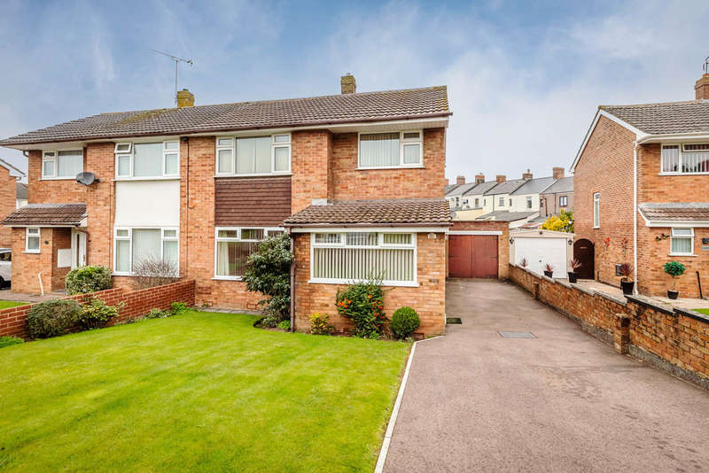 3 Bedrooms Semi Detached House for sale in Lakeside Avenue, Lydney