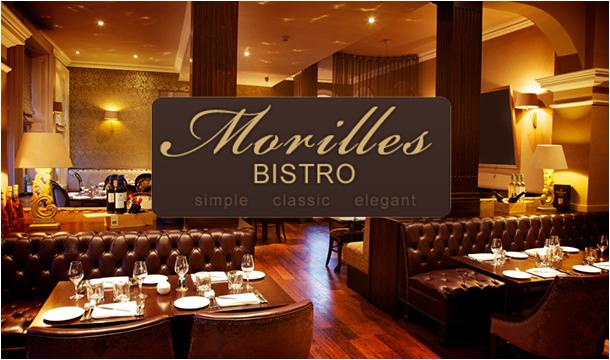 Morilles Bistro - Simple, Classic, Elegant