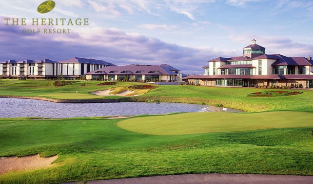 Win an overnight stay with Golf & Breakfast for 4 people at The Heritage Golf Resort!