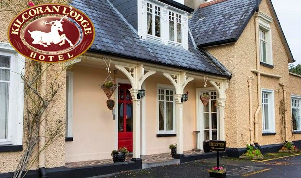 Win a 1 Night Stay for 2 People Including Full Irish Breakfast, and much more at Kilcoran Lodge Hotel, Co Tipperary